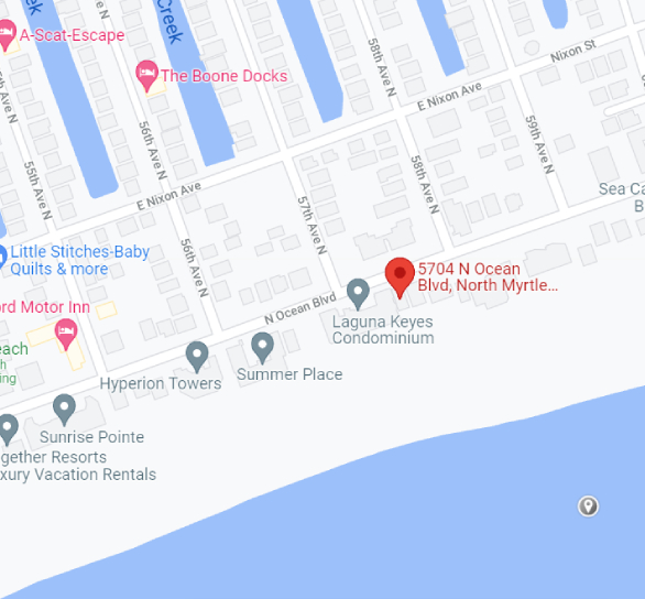 5704 North Ocean Blvd Beach Rental House